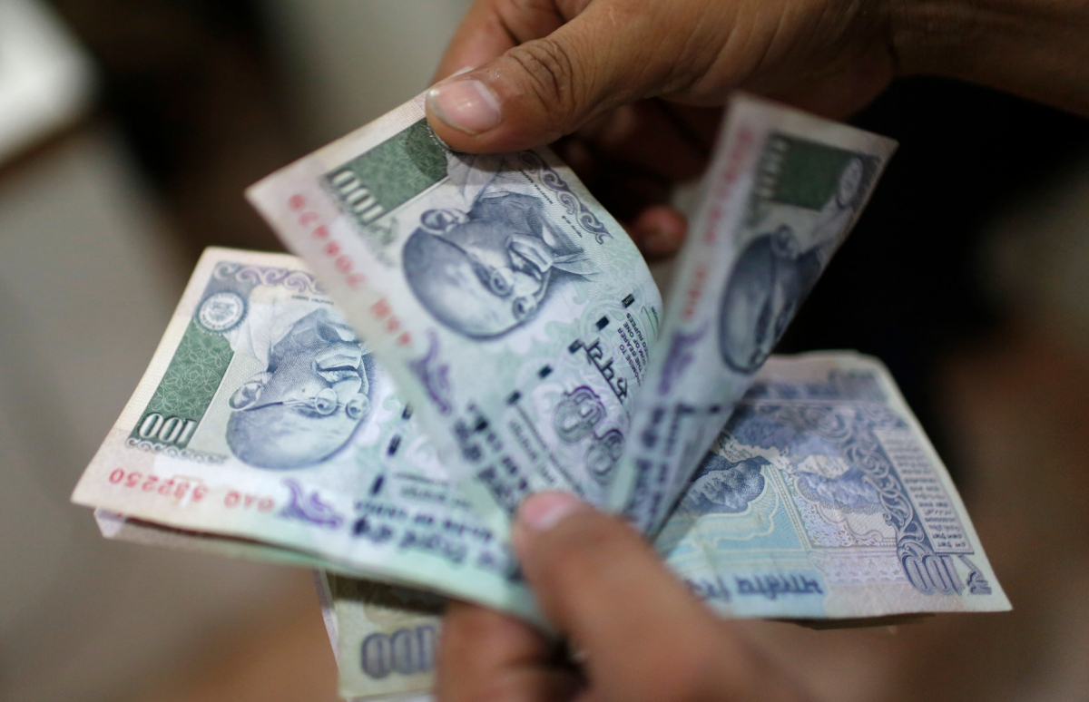 Rupee rises 10 paise against US dollar