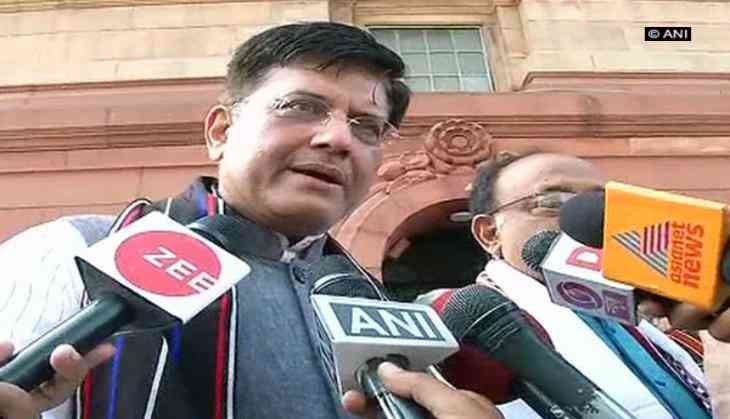 Fiscal Deficit will be at 3.4% of GDP this year: Piyush Goyal