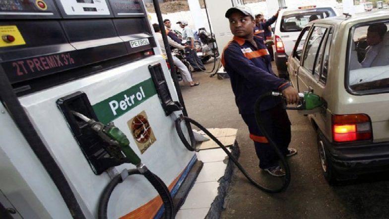 Petrol price hike at Delhi, Kolkata, Mumbai and Chennai.