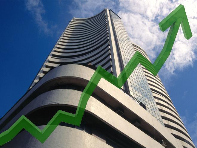 Stocks open in green ahead of Gujarat exit polls
