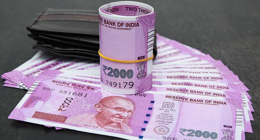Rupee slips 4 paise against US dollar
