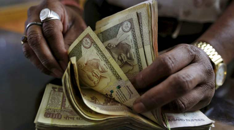 Rupee tumbles 16 paise, stronger equities contain fall