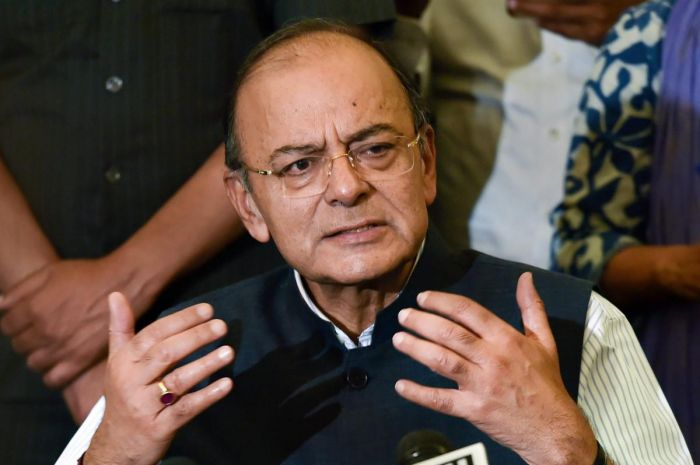 Comfortable forex reserves to deal with under Re volatility: Arun Jaitley