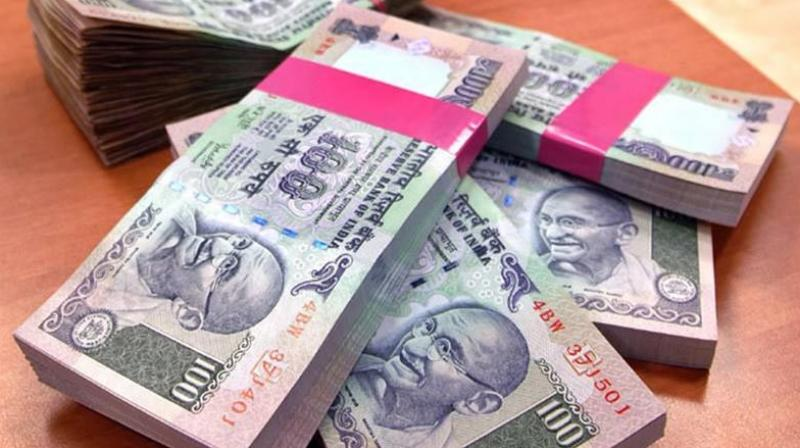 Rupee weakens by 6 paise against dollar