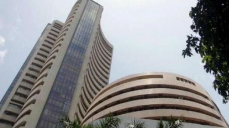 Sensex soars 128 points in early trade