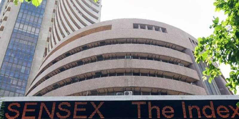 Sensex slips over 150 points amid trade war fears