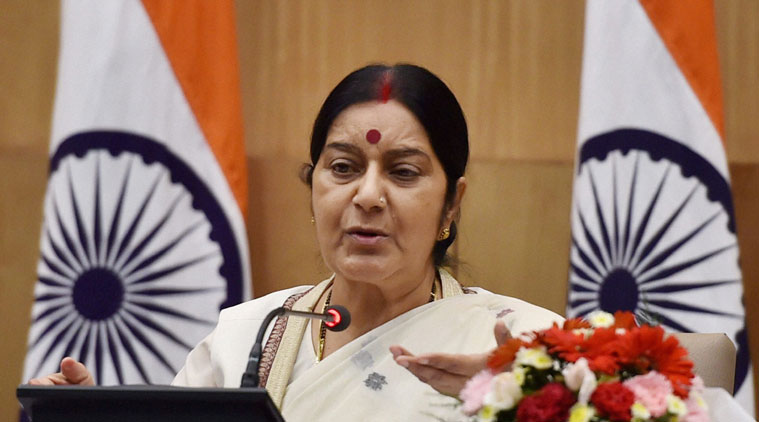 "externalaffairsministersushmaswaraj""promotinginternationalpeaceandsecurityforsustainabledevelopment"""