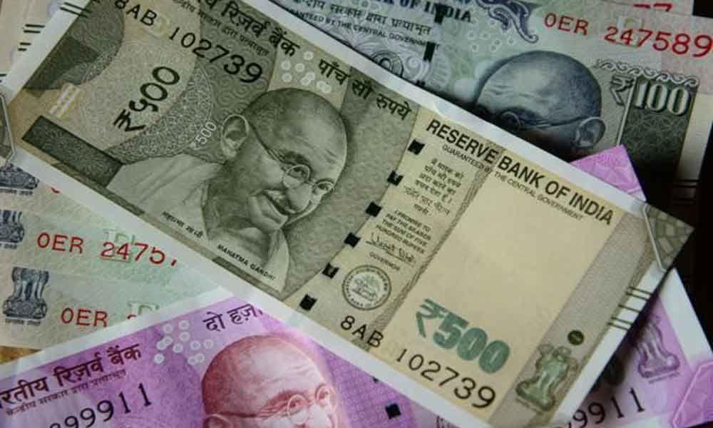 Rupee slips 22 paise against US dollar