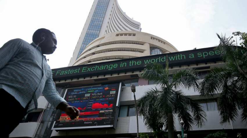 Sensex falls over 200 pts, Nifty slips below 10,800 on global selloff