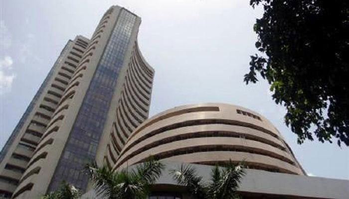 Sensex hits new peak of 33,295, Nifty at 10,369 points