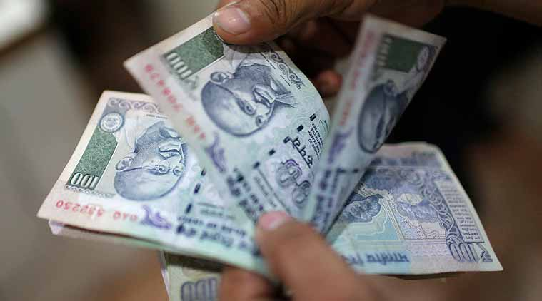 Rupee dips 5 paise against dollar