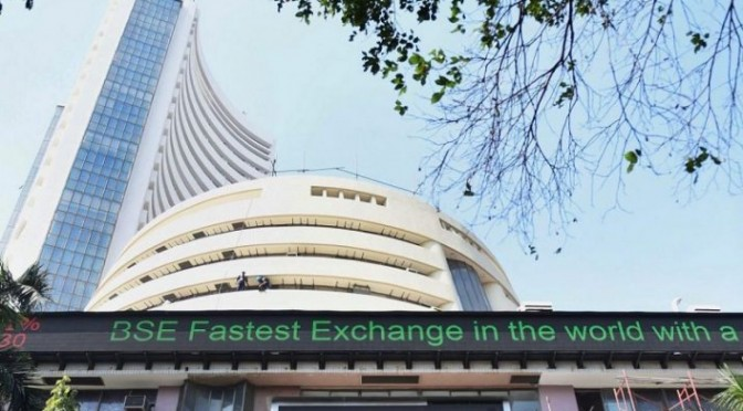 Sensex drops over 400 points, Axis Bank, RIL top losers