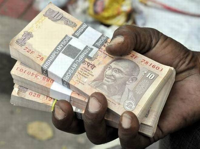 Rupee rebounds 8 paise against dollar