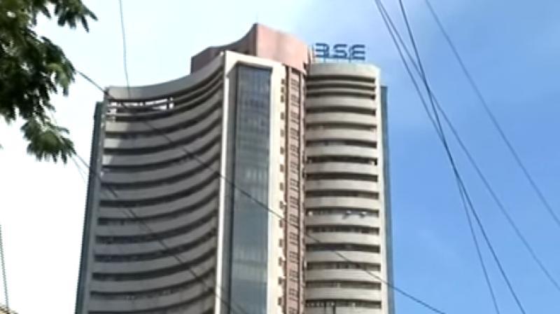 Sensex creates a record at 34,087, oil stocks jump