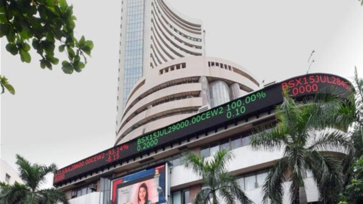 Sensex rallies over 1,300 points in opening session