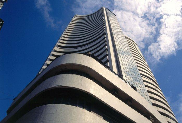 Sensex falls over 100 points