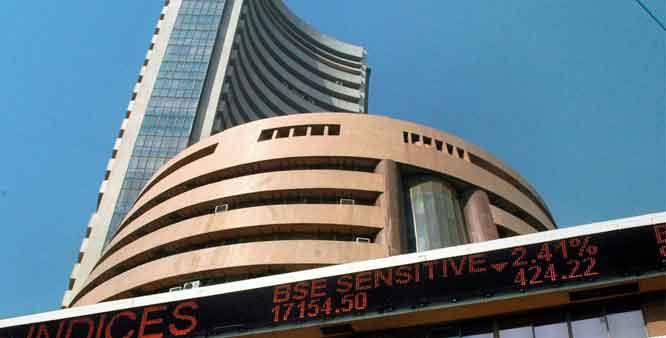 Sensex falls 124 points ahead of budget
