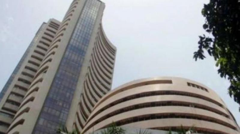 Sensex makes a 136 point rebound as bad loan fight paces up