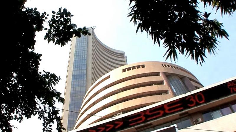Weak economic data pull Sensex down