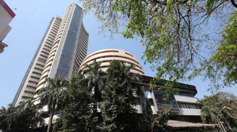 Sensex hits new record of 33,853.63