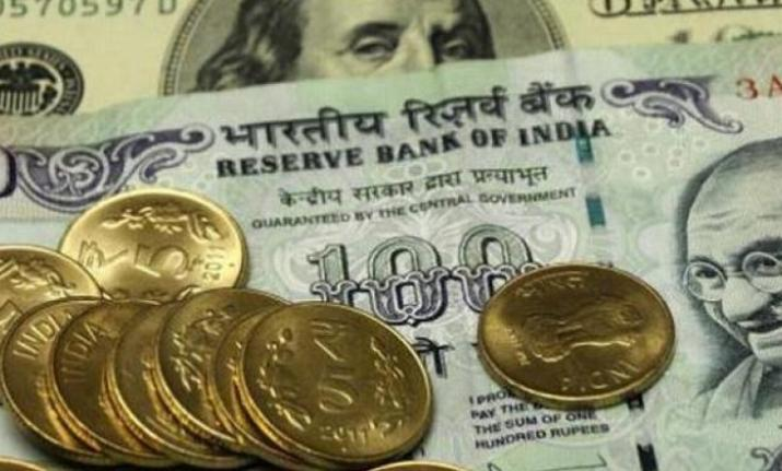 Rupee rises 8 paise against US dollar