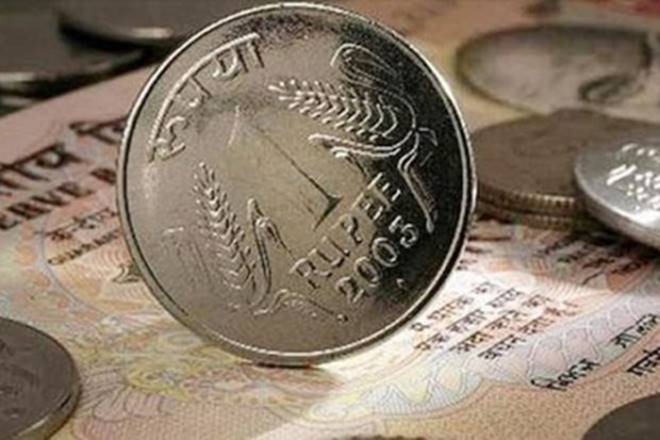 Rupee falls 27 paise against US dollar