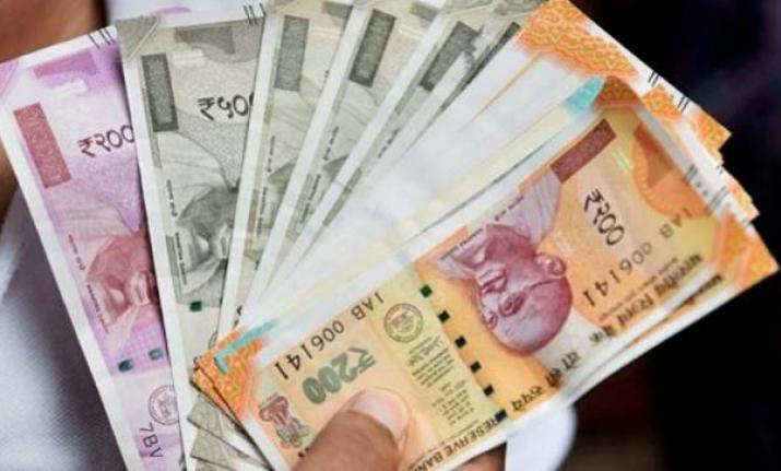 Rupee slips 21 paise against US dollar