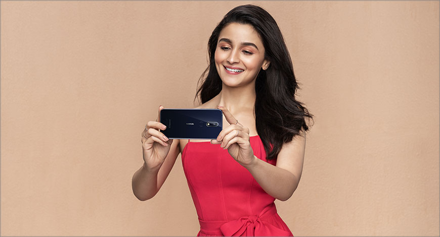 Alia Bhatt appointed as face of Nokia phones in India