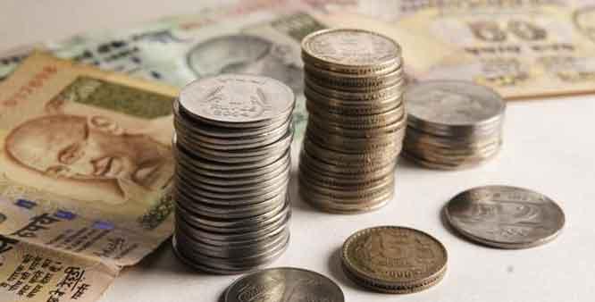 Rupee drops 16 paise against US dollar