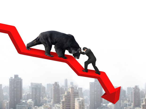 Sensex moves down ahead of F&O expiry