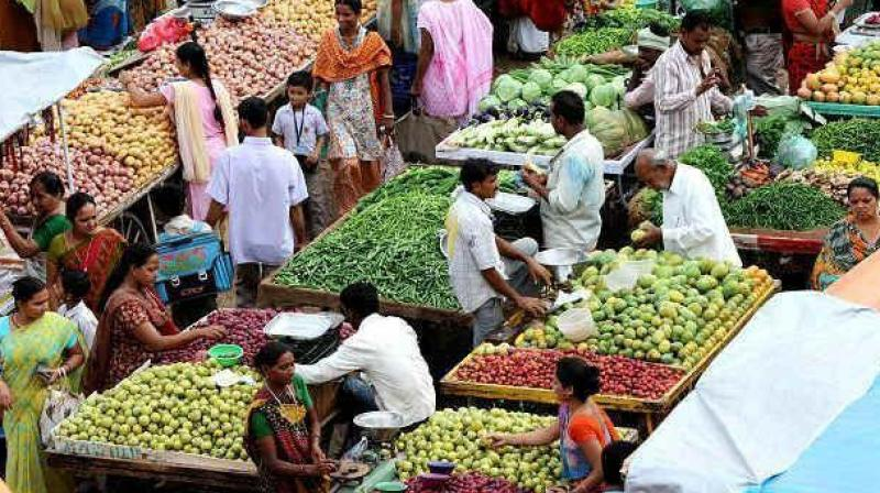 Retail inflation rises to five-month high of 3.36 per cent in August