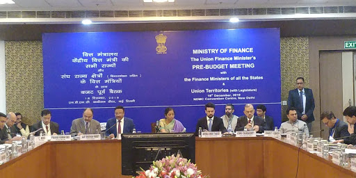 Finance Minister Nirmala Sitharaman holds pre-budget consultations with Finance Ministers of States and UTs
