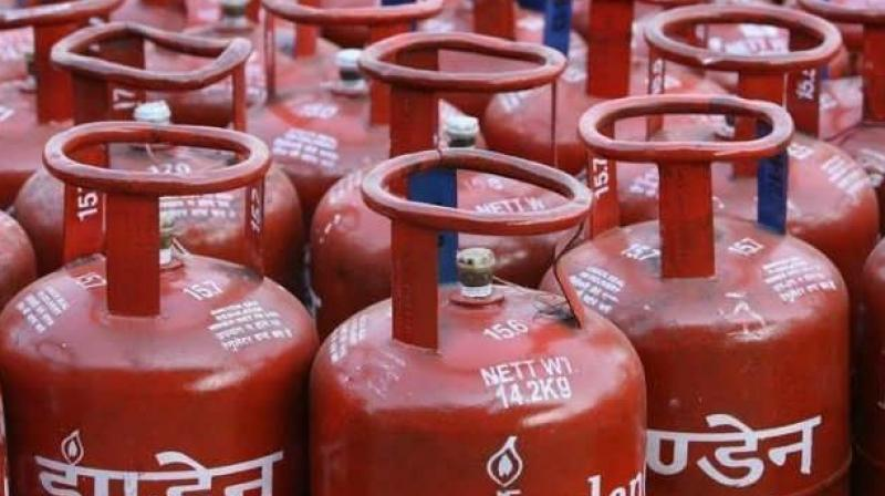 Subsidised LPG price increased by Rs.5.57