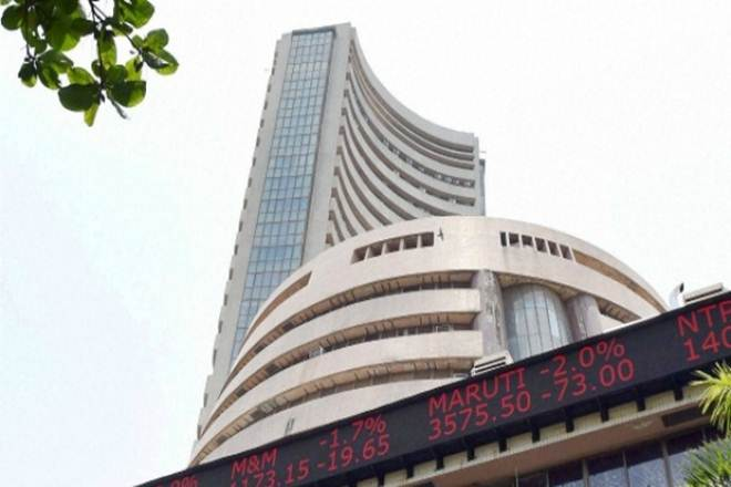 Sensex drops over 100 points; bank stocks drag