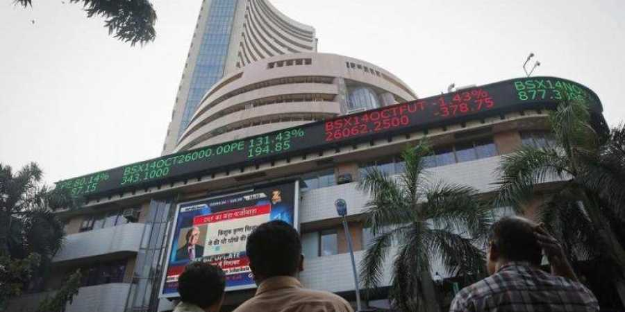 Sensex jumps over 150 points on positive global cues
