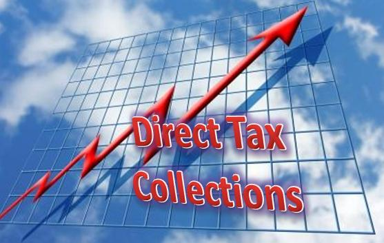 Direct tax collection on 10.6% to Rs.3.77 lakh cr