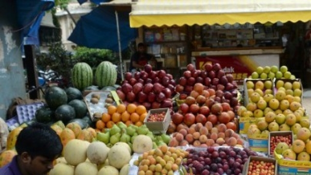 Retail inflation hits
