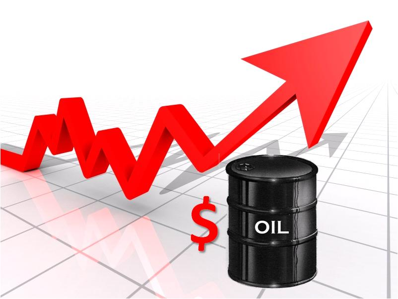 Oil prices march higher