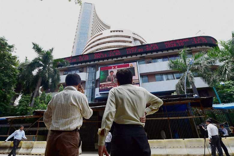Sensex down 40 points on profit booking