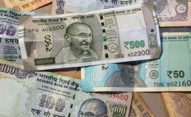 Rupee rises 55 paise against US dollar