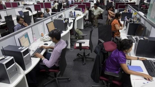 Job insecurity gives way to India