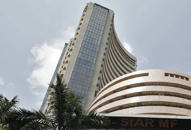 Sensex rises over 100 points; Nifty tests 11,600
