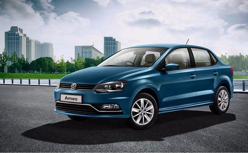 Volkswagen launches Ameo diesel in India