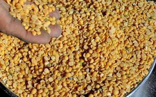 Thoor dal prices move down