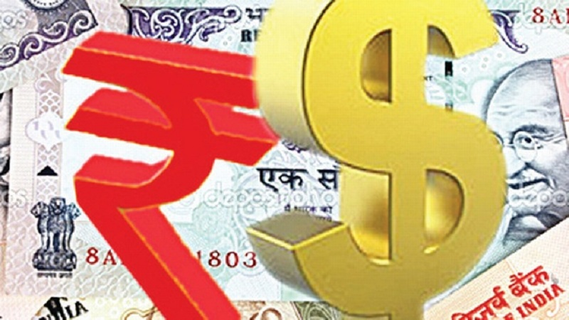 Rupee falls 12 paise to fresh 16-month low against dollar