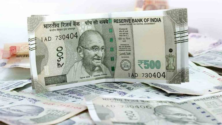 Rupee opens 5 paise down against US dollar