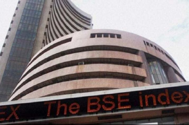 Sensex scales record high,Nifty holds above 11k