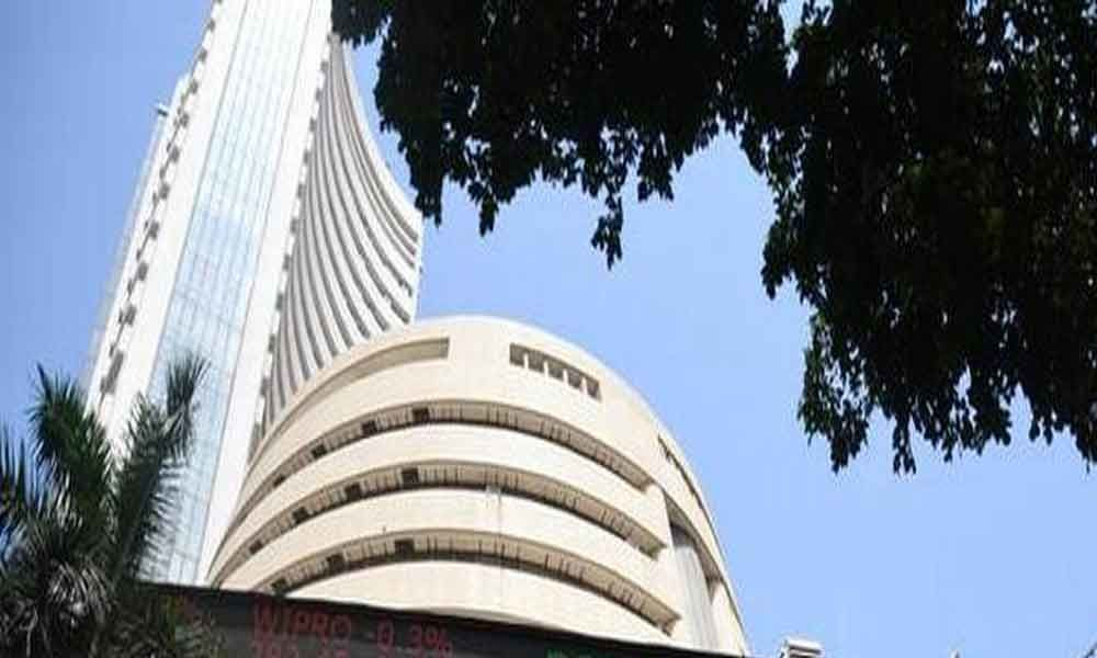 Sensex drops over 150 points; Nifty below 11,800