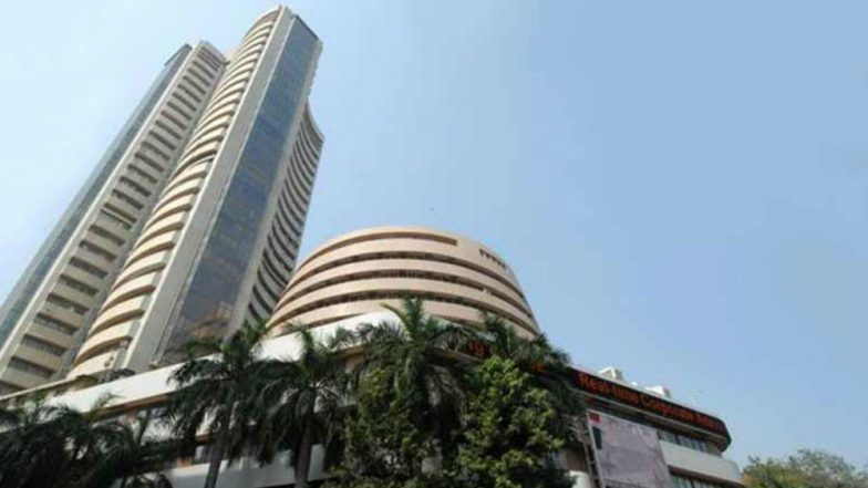Sensex rises nearly 200 points on positive global cues
