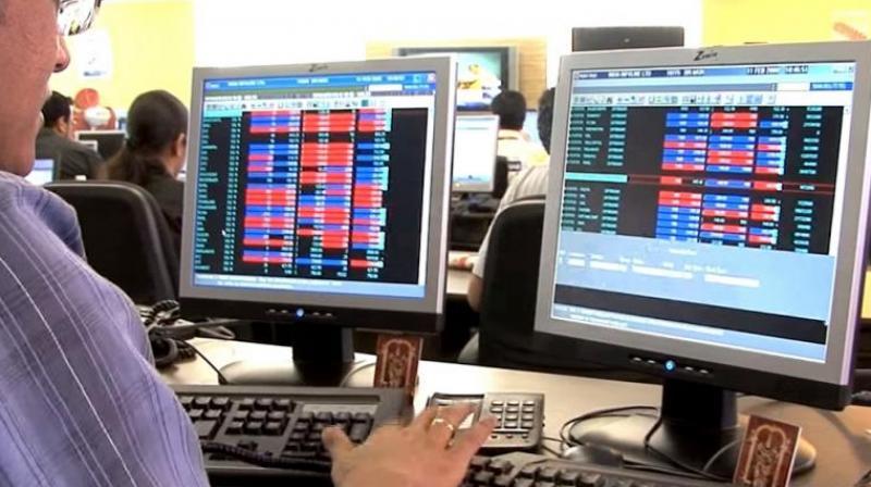 Sensex opens with marginal gains